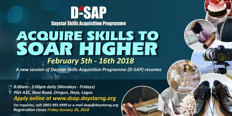 daystar skill acquisition programme