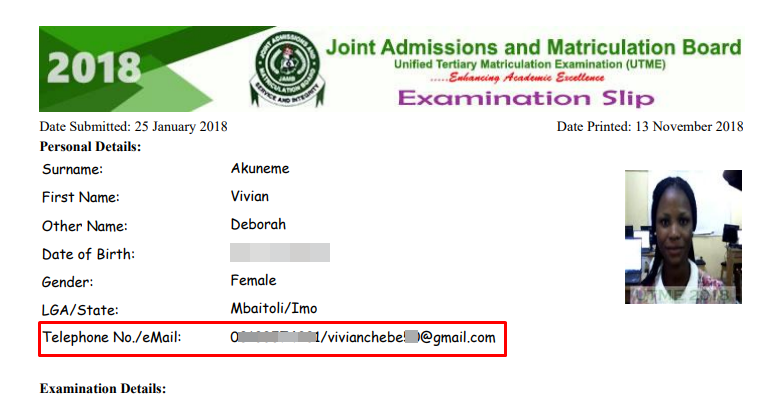 jamb email